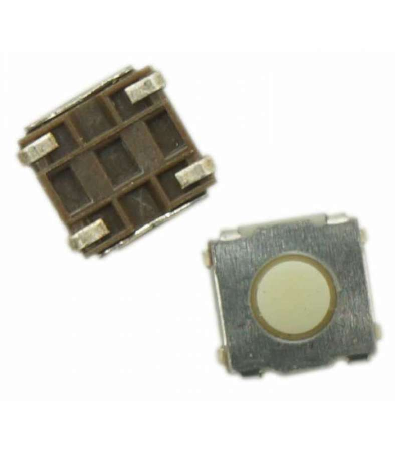 Switch bouton 4 broches carré 6,6 mm (x 5)